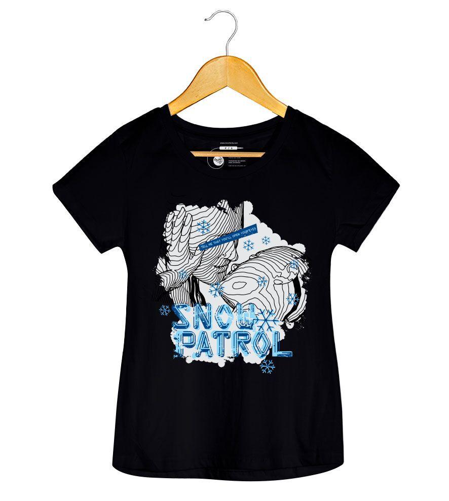 Camiseta Snow Patrol -  Feminino