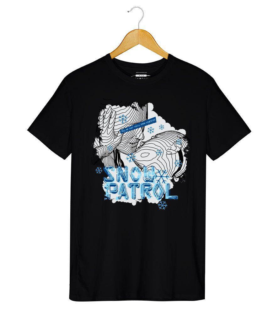 Camiseta - Snow Patrol -  Masculino
