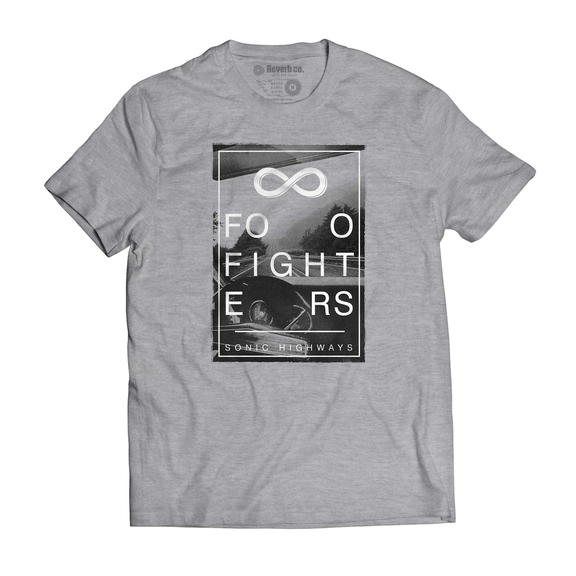 Camiseta Sonic Highways - Foo Fighters - Masculino