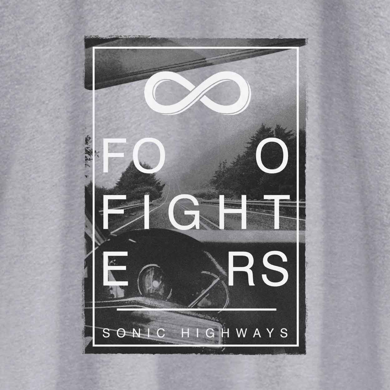Camiseta - Sonic Highways - Foo Fighters - Masculino