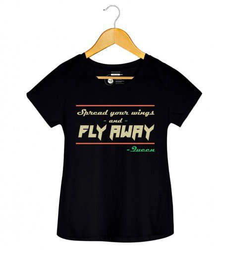 Camiseta - Spread Your Wings - Queen - Feminino