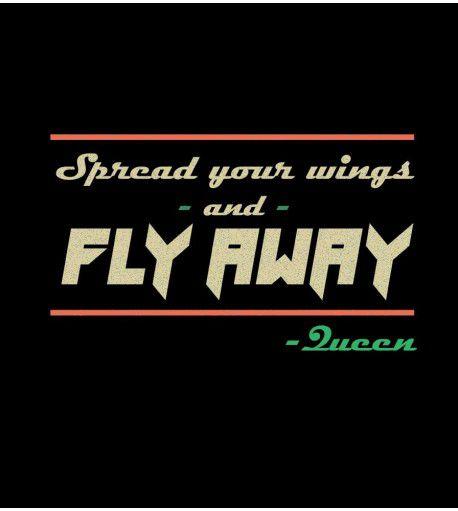 Camiseta - Spread Your Wings - Queen - Feminino