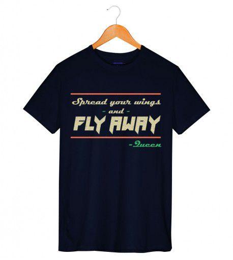 Camiseta - Spread Your Wings - Queen - Masculino