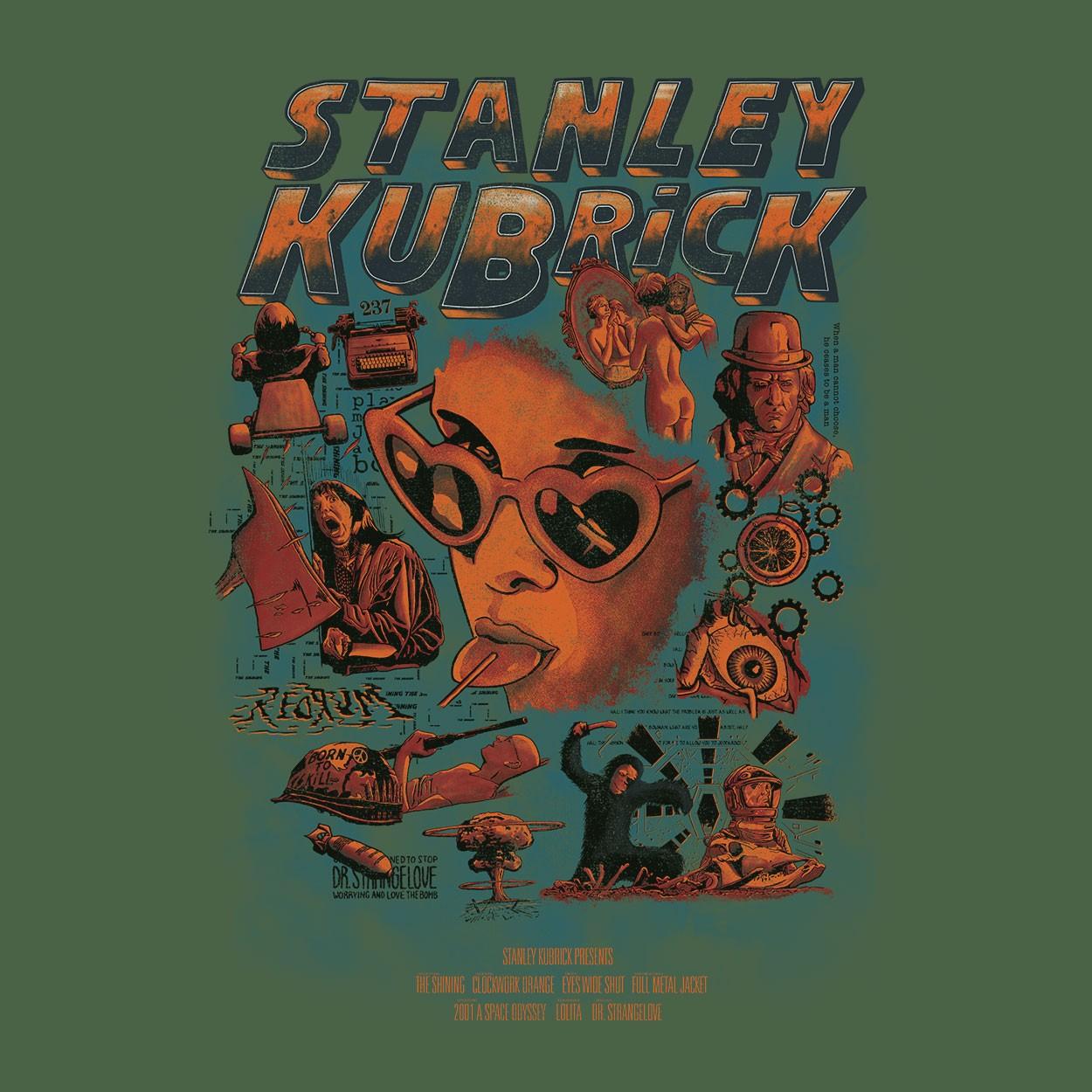 Camiseta Stanley Kubrick - Masculino