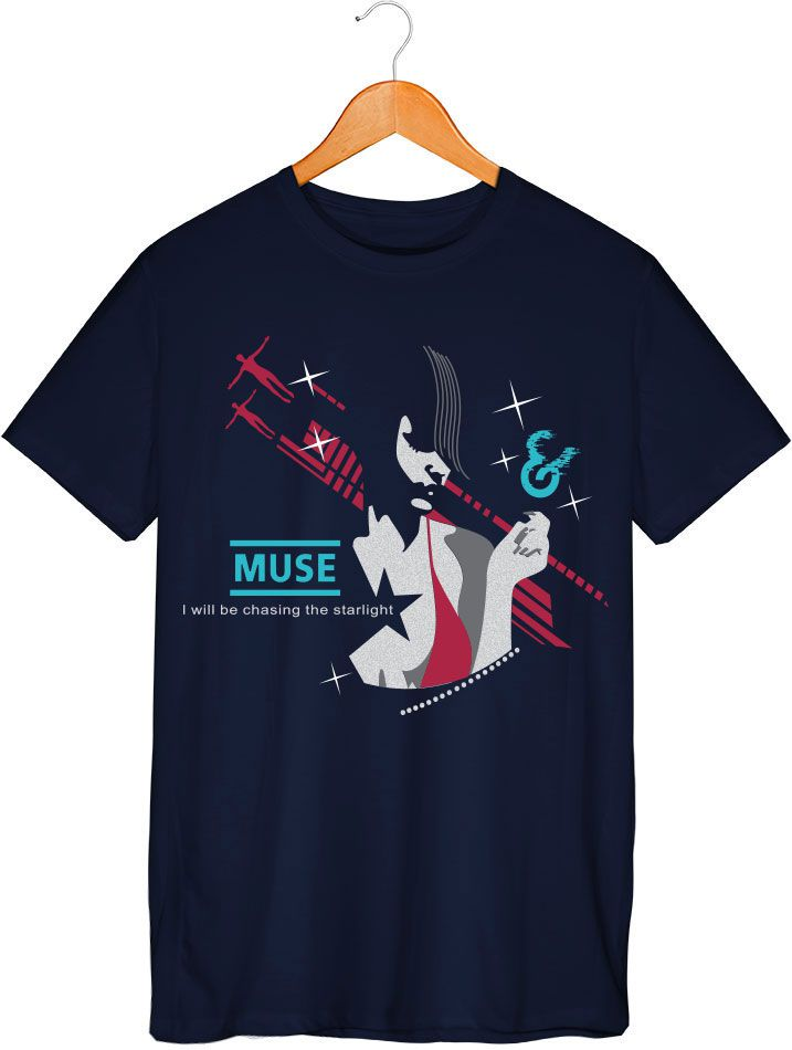 Camiseta - Starlight - Muse - Masculino