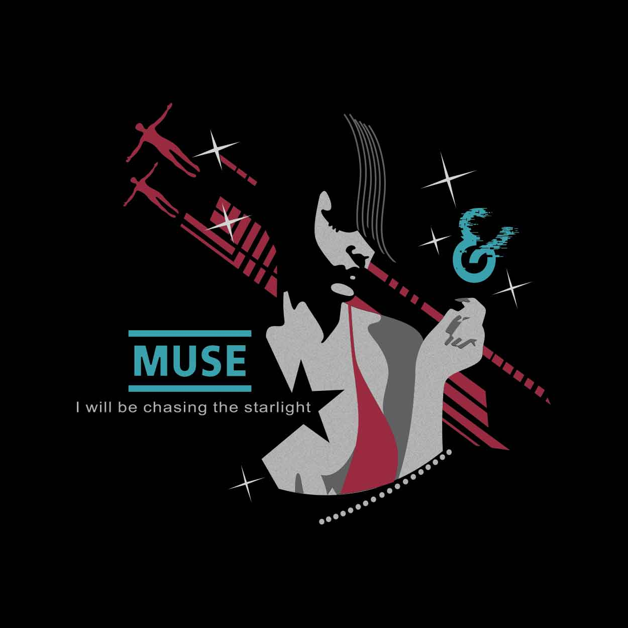 Camiseta - Starlight - Muse - Masculino