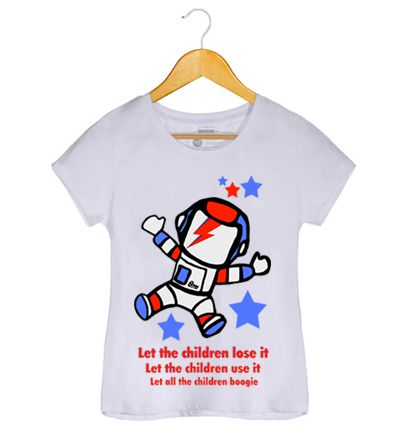 Camiseta - Starman - David Bowie - Feminino