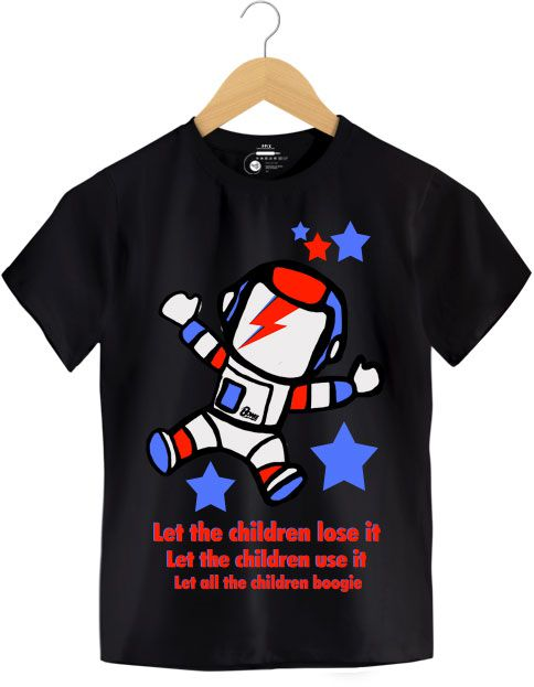 Camiseta - Starman - David Bowie - Infantil