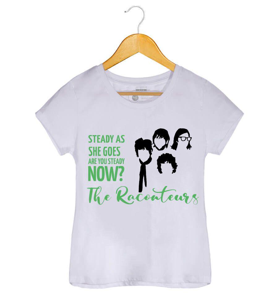 Camiseta Steady As She Goes - The Raconteurs - Feminino
