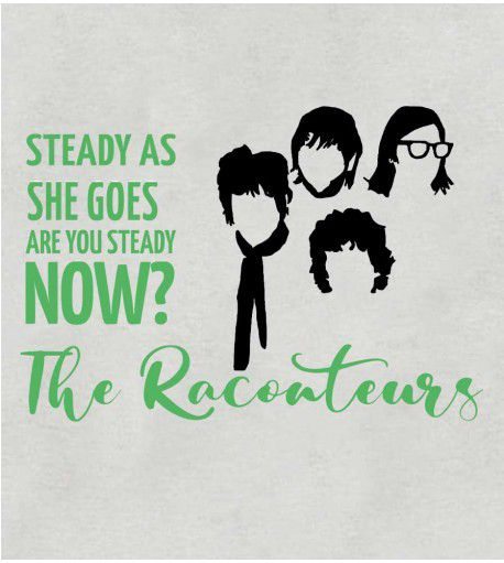 Camiseta - Steady As She Goes - The Raconteurs - Feminino