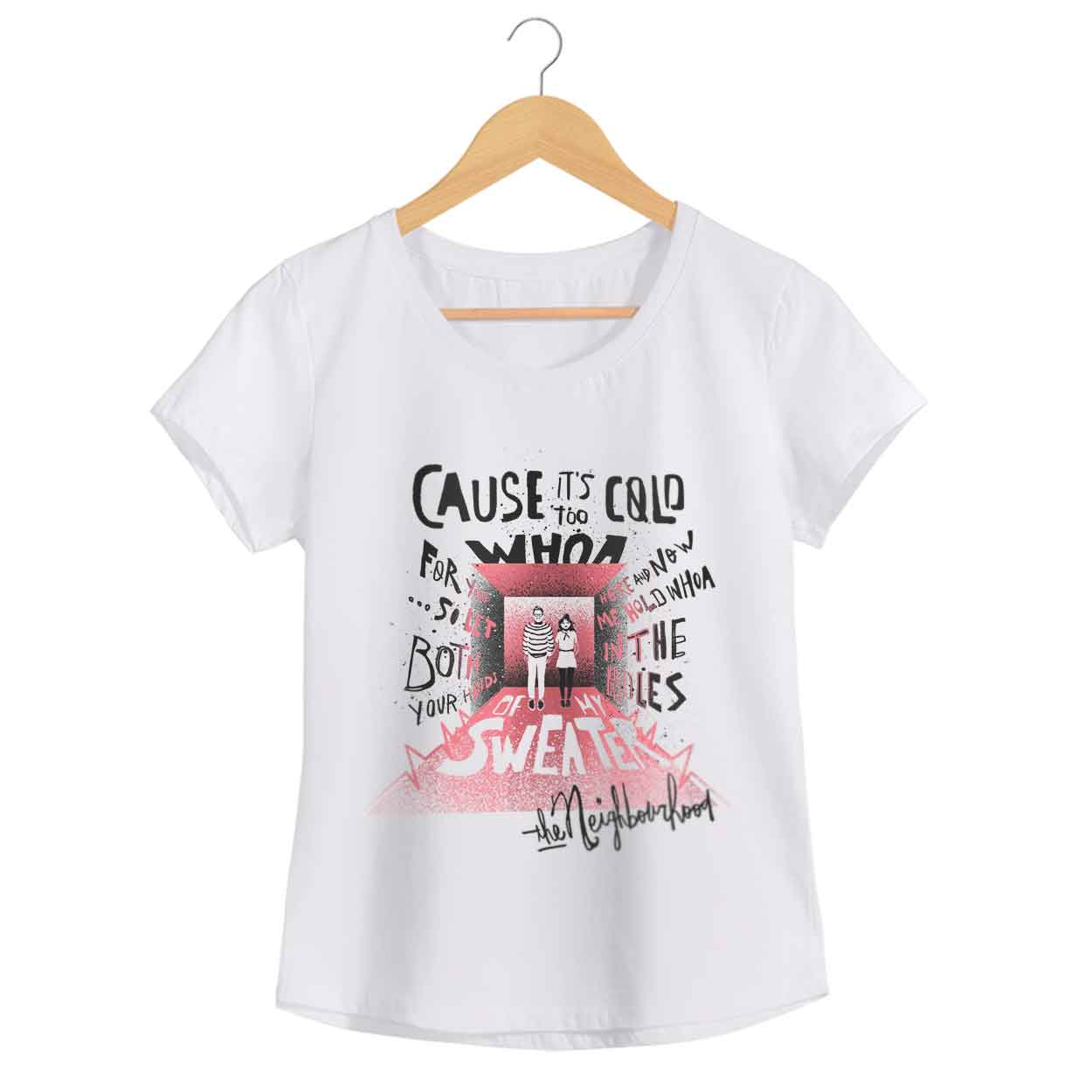 Camiseta Sweater Weather - The Neighbourhood - Feminino