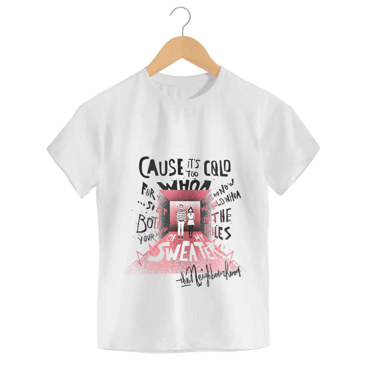 Camiseta Sweater Weather - The Neighbourhood - Infantil