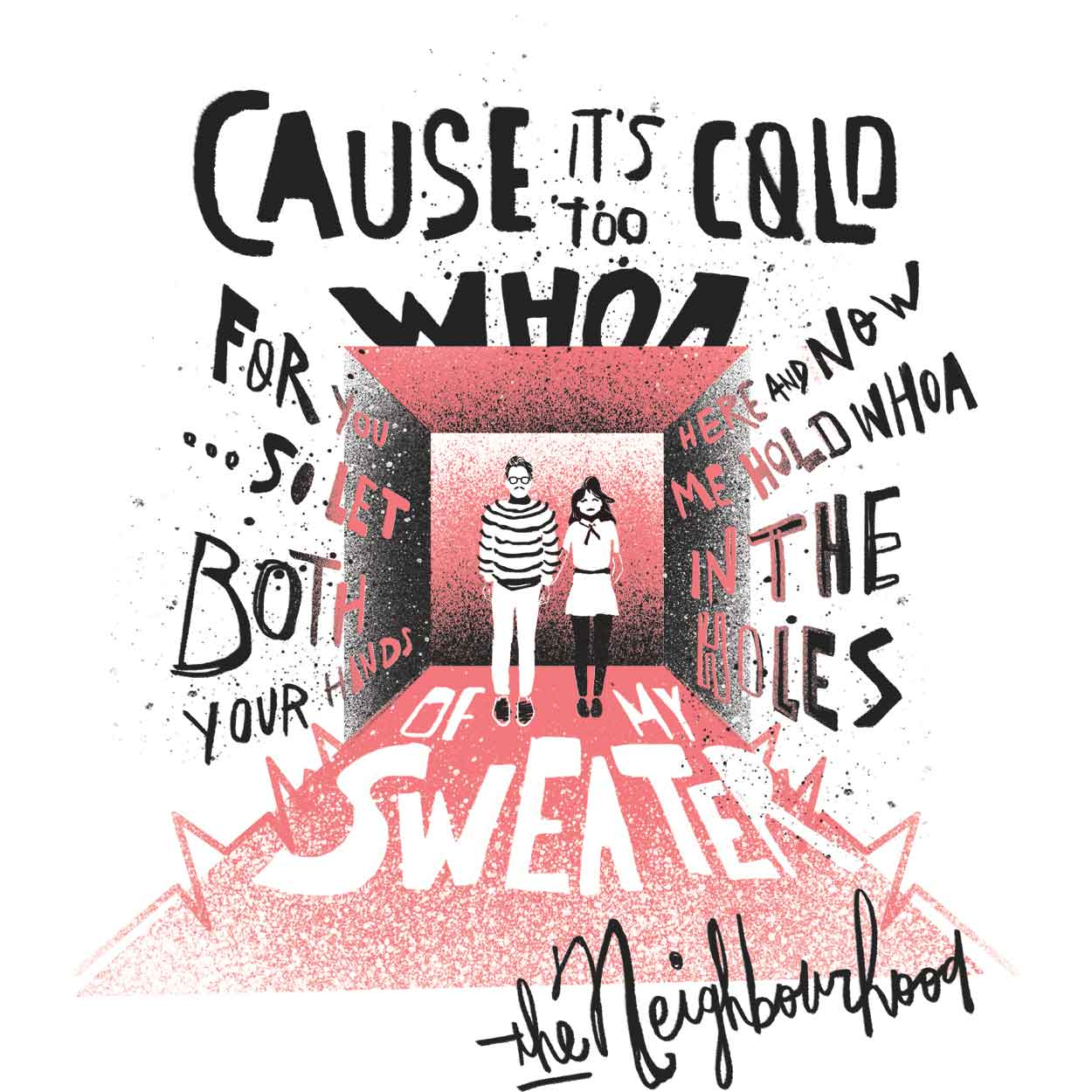 Camiseta Sweater Weather - The Neighbourhood - Masculino