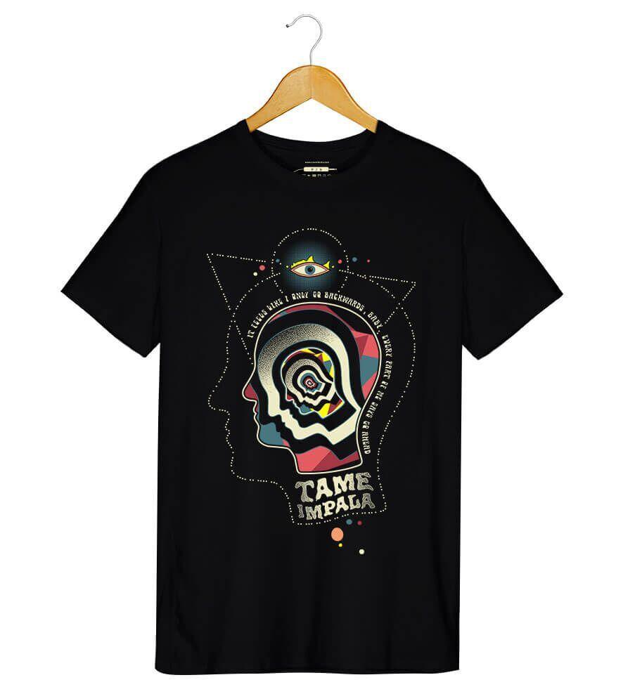 Camiseta Backwards - Tame Impala - Masculino