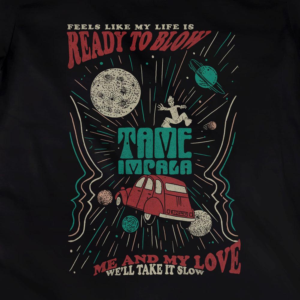 Camiseta Tame Impala - Mind Mischief - Feminino