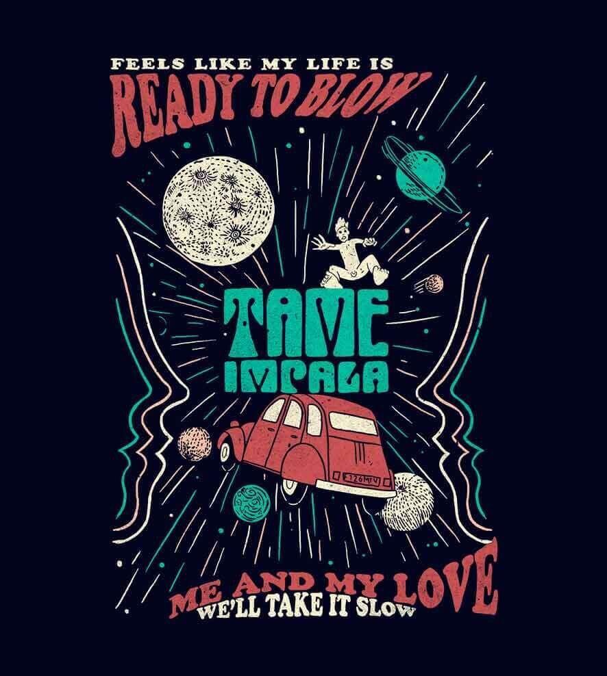 Camiseta - Tame Impala - Mind Mischief - Masculino