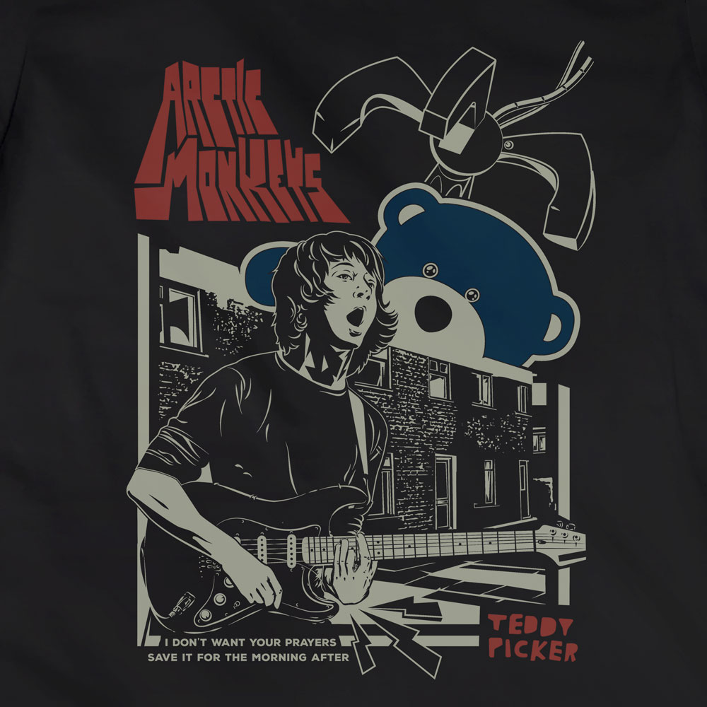 Camiseta Ted Picker - Arctic Monkeys - Feminino