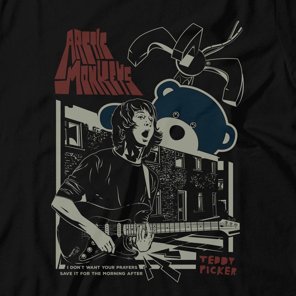 Camiseta Ted Picker - Arctic Monkeys - Infantil