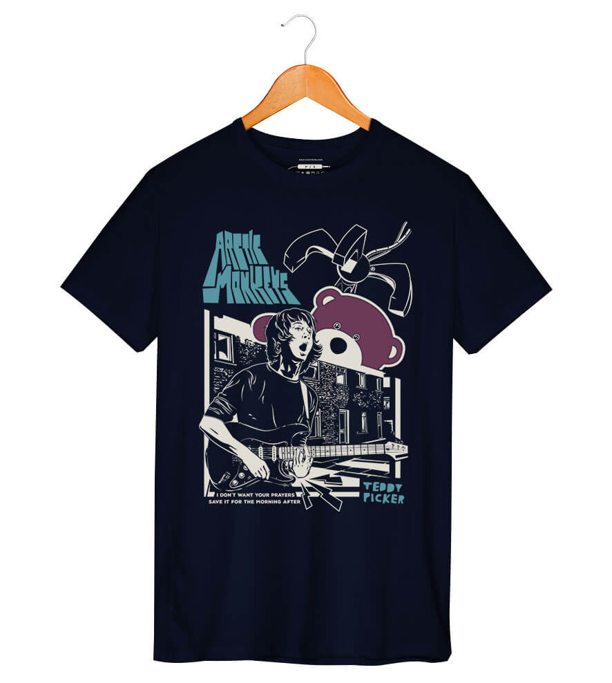 Camiseta - Teddy Picker - Artic Monkeys - Masculina