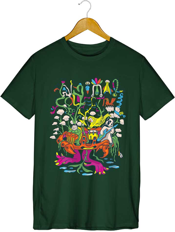 Camiseta - Animal Collective - Masculino