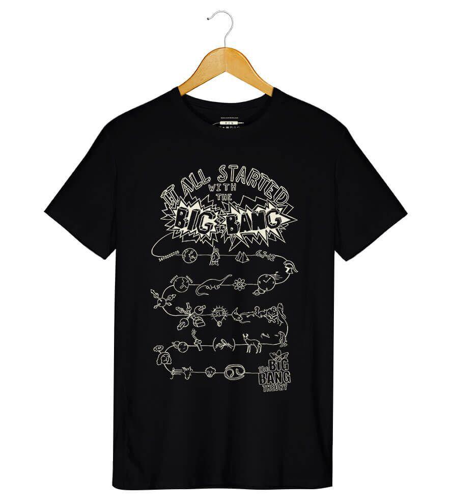Camiseta The Big Bang Theory - Masculino