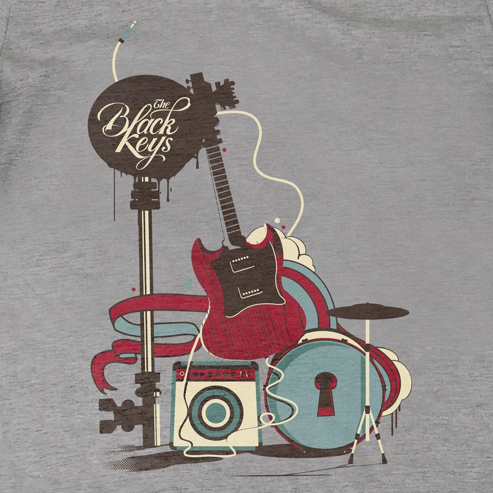 Camiseta The Black Keys - Feminino