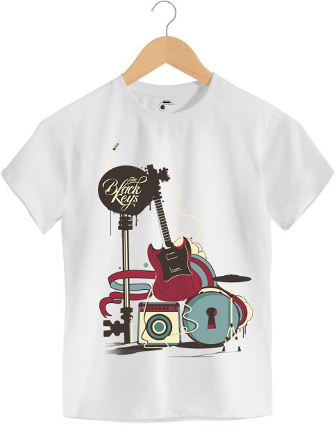 Camiseta - The Black Keys - Infantil