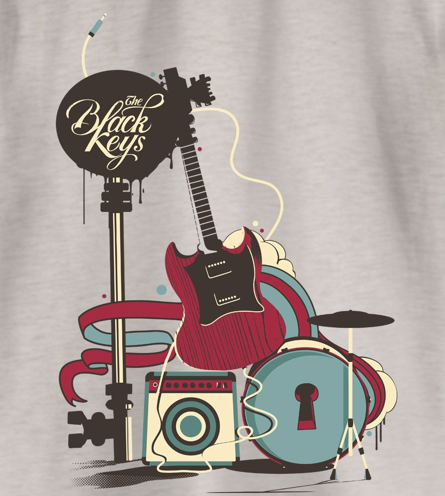 Camiseta - The Black Keys - Infantil