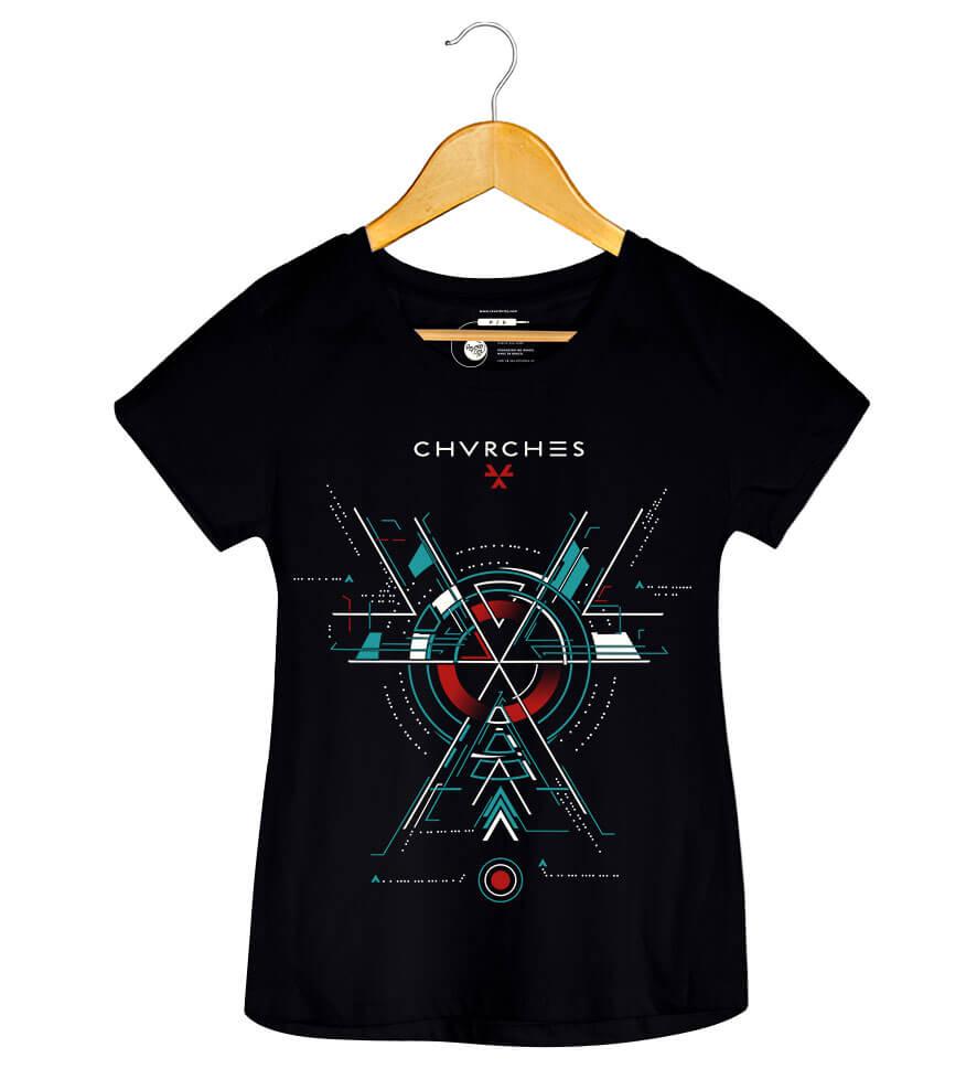Camiseta - The Bones Of What You Believe - Chvrches - Feminino