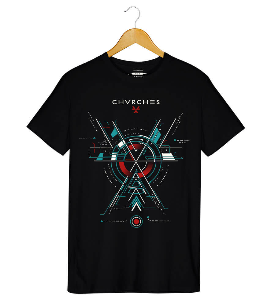 Camiseta - The Bones Of What You Believe - Chvrches - Masculino