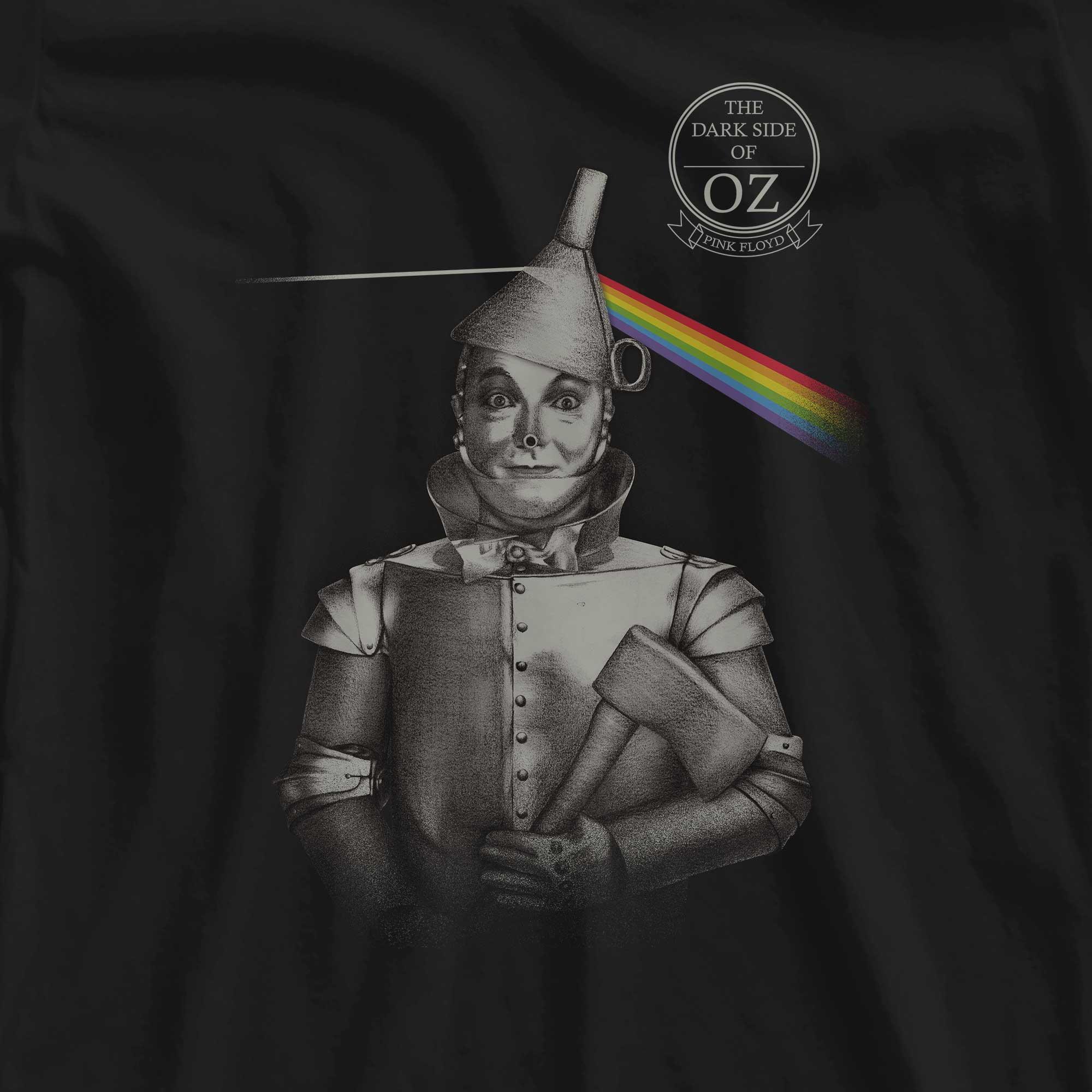 Camiseta The Dark Side Of Oz - Pink Floyd - Feminino