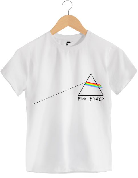 Camiseta - The Dark Side Of The Moon - Pink Floyd - Infantil