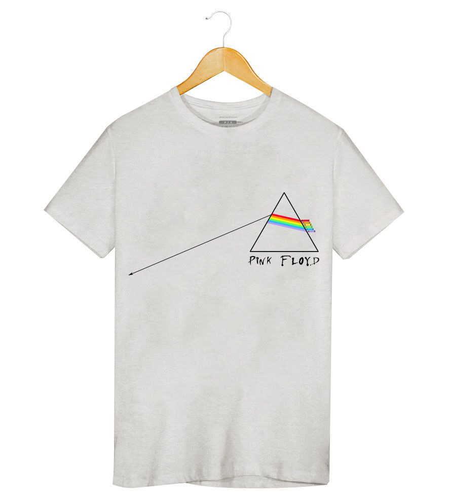 Camiseta - The Dark Side Of The Moon - Pink Floyd - Masculino