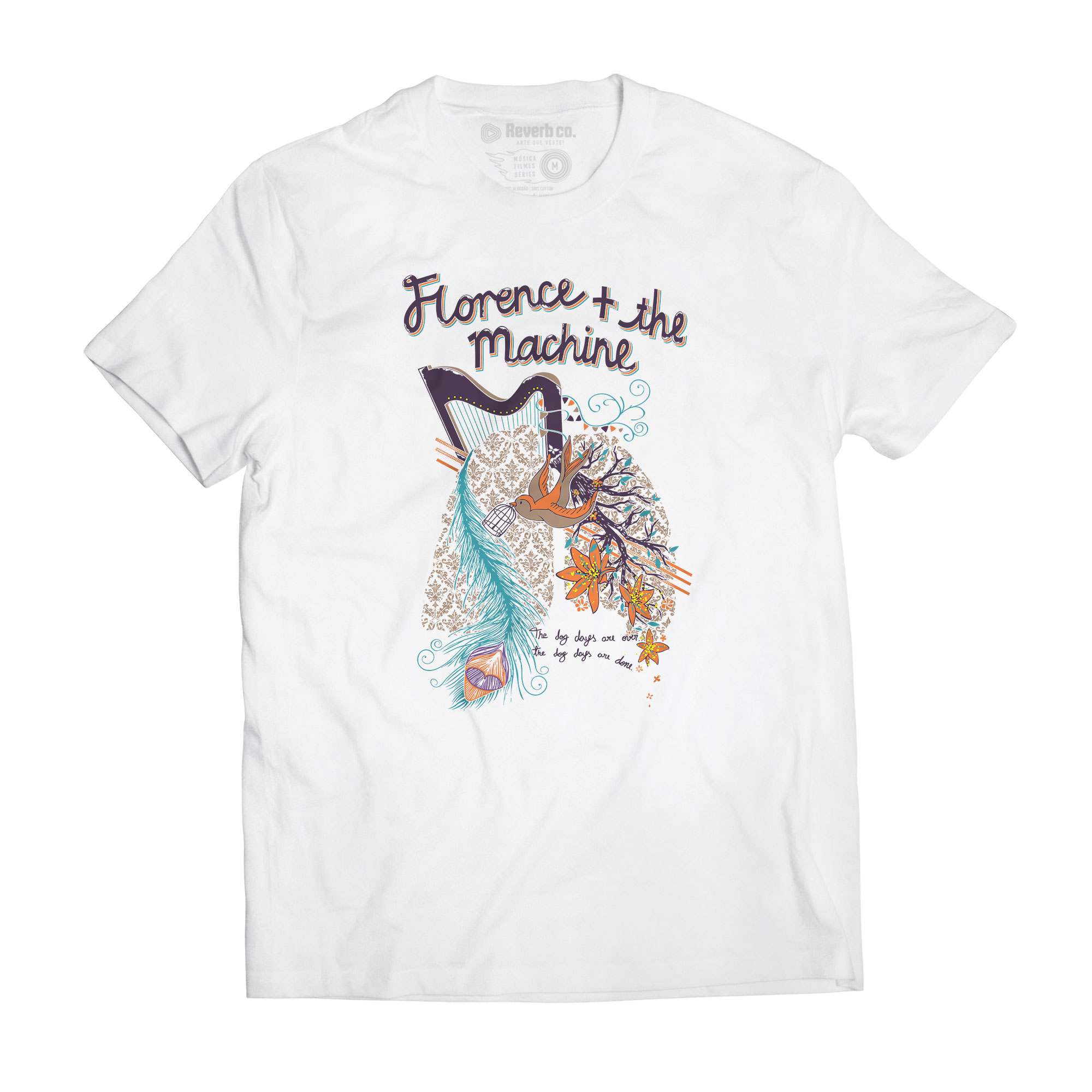 Camiseta The Dog Dayes - Florence and The Machine - Masculino