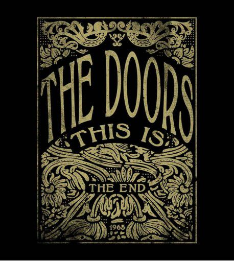 Camiseta - The End - The Doors - Masculino