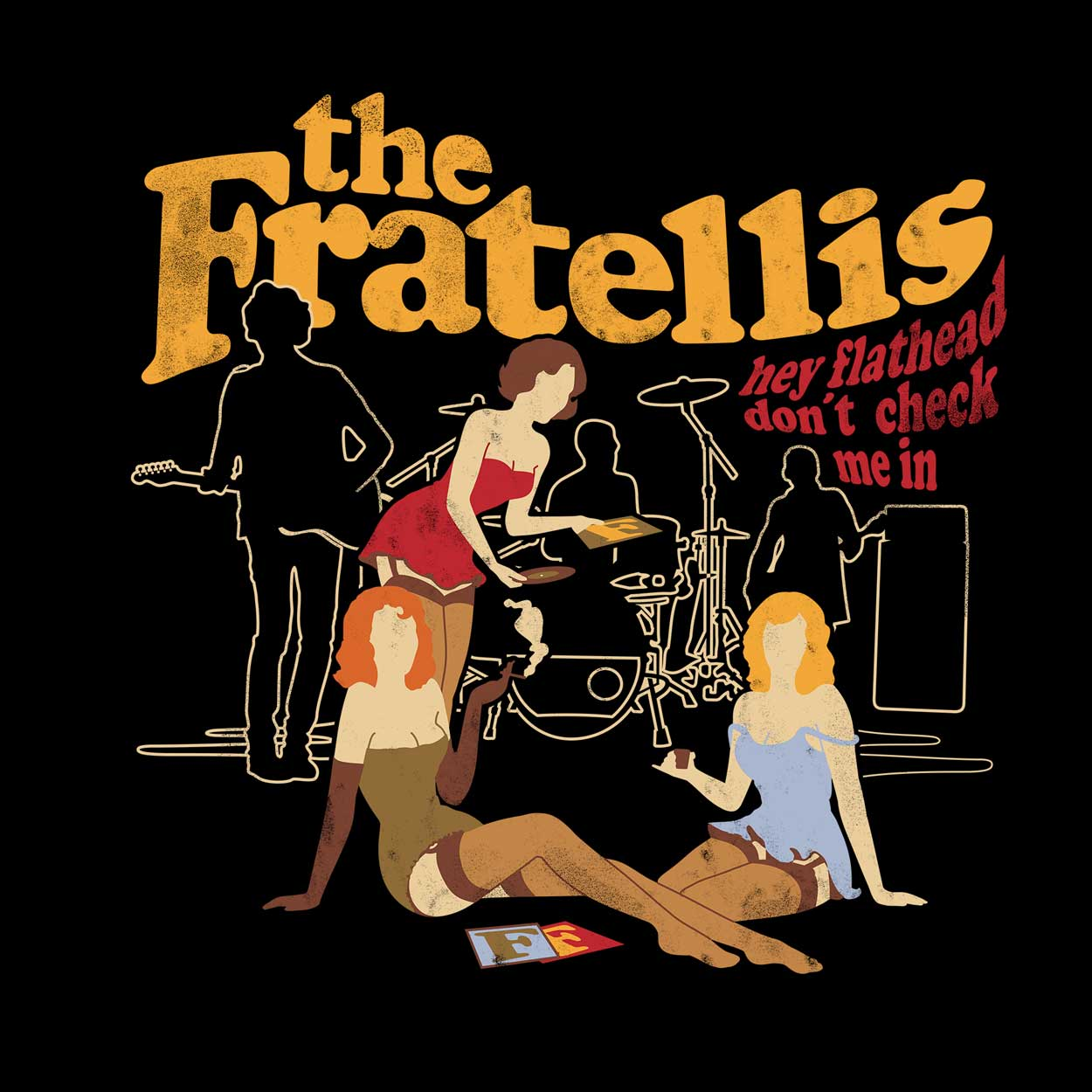 Camiseta The Fratellis - Feminino