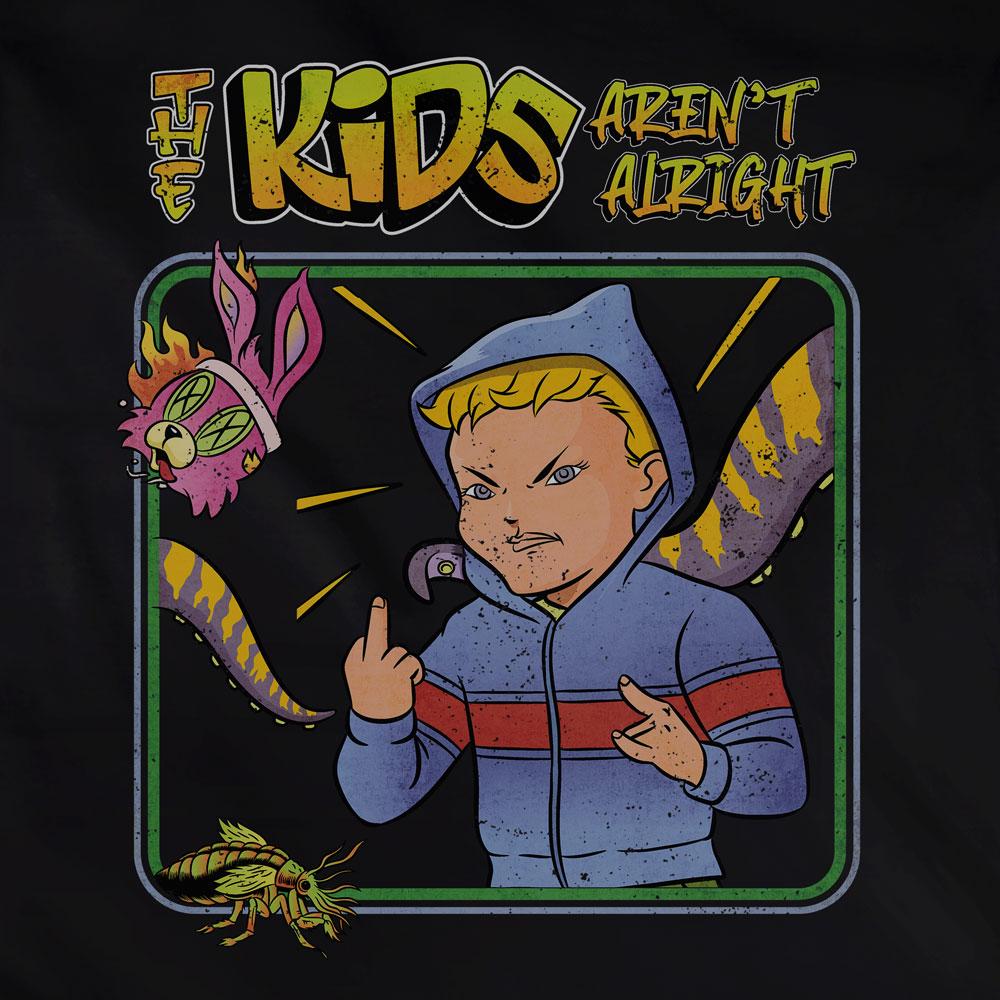 Camiseta The Kids Arent Alright - Feminino