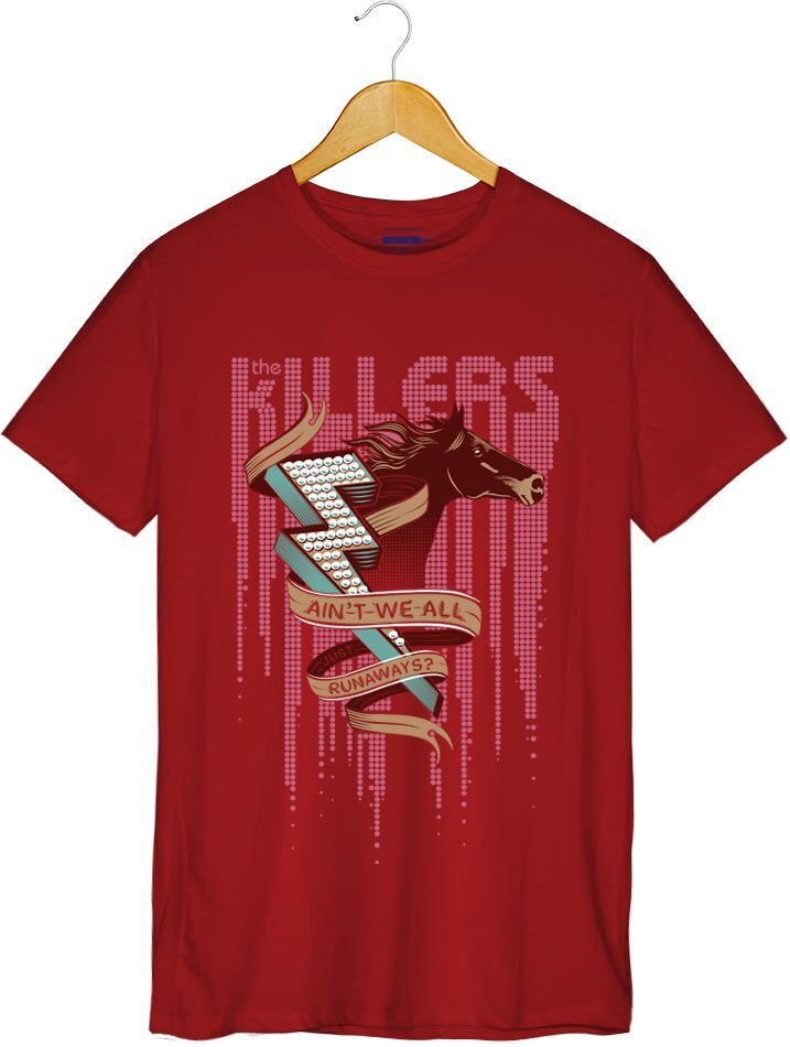 Camiseta - The Killers - Runaways - Masculino