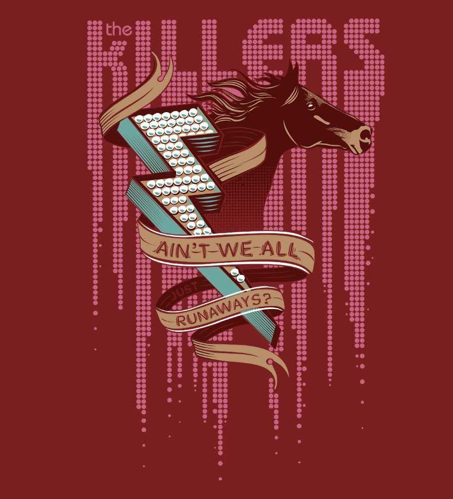 Camiseta - The Killers - Runaways - Masculino