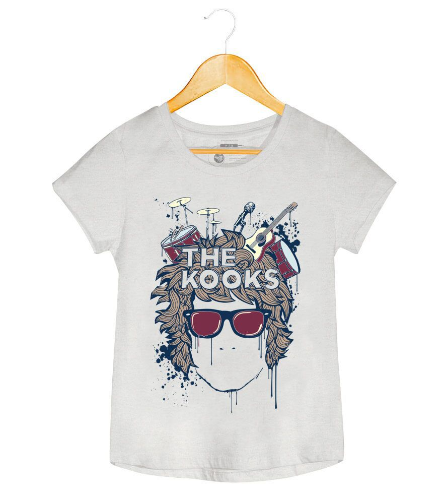 Camiseta - Instruments - The Kooks - Feminino