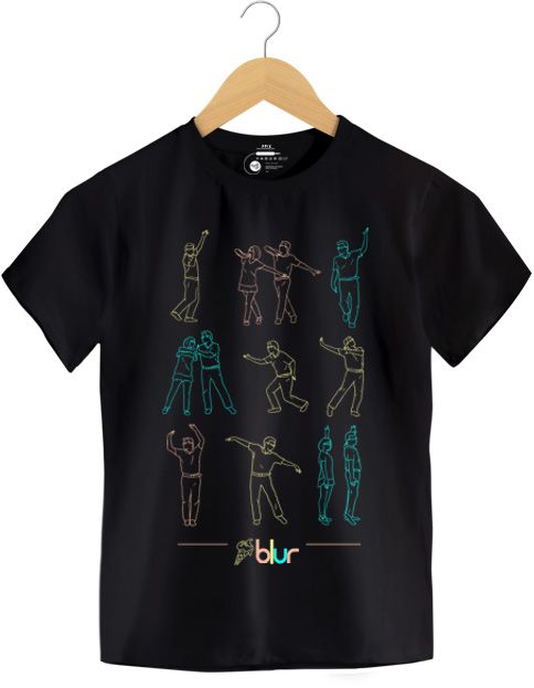 Camiseta The Magic Whip - Blur - Infantil