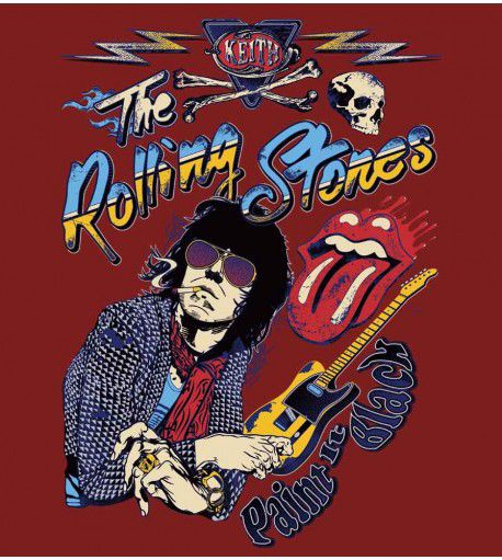 Camiseta - Paint It Black - The Rolling Stones - Masculino