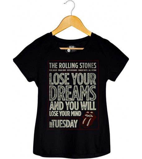 Camiseta - Ruby Tuesday - The Rolling Stones - Feminino