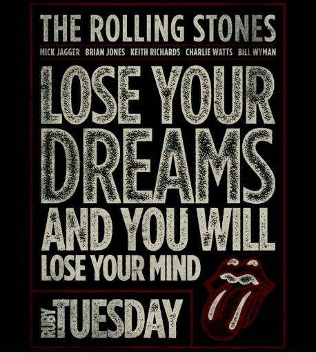 Camiseta - The Rolling Stones - Ruby Tuesday - Masculino