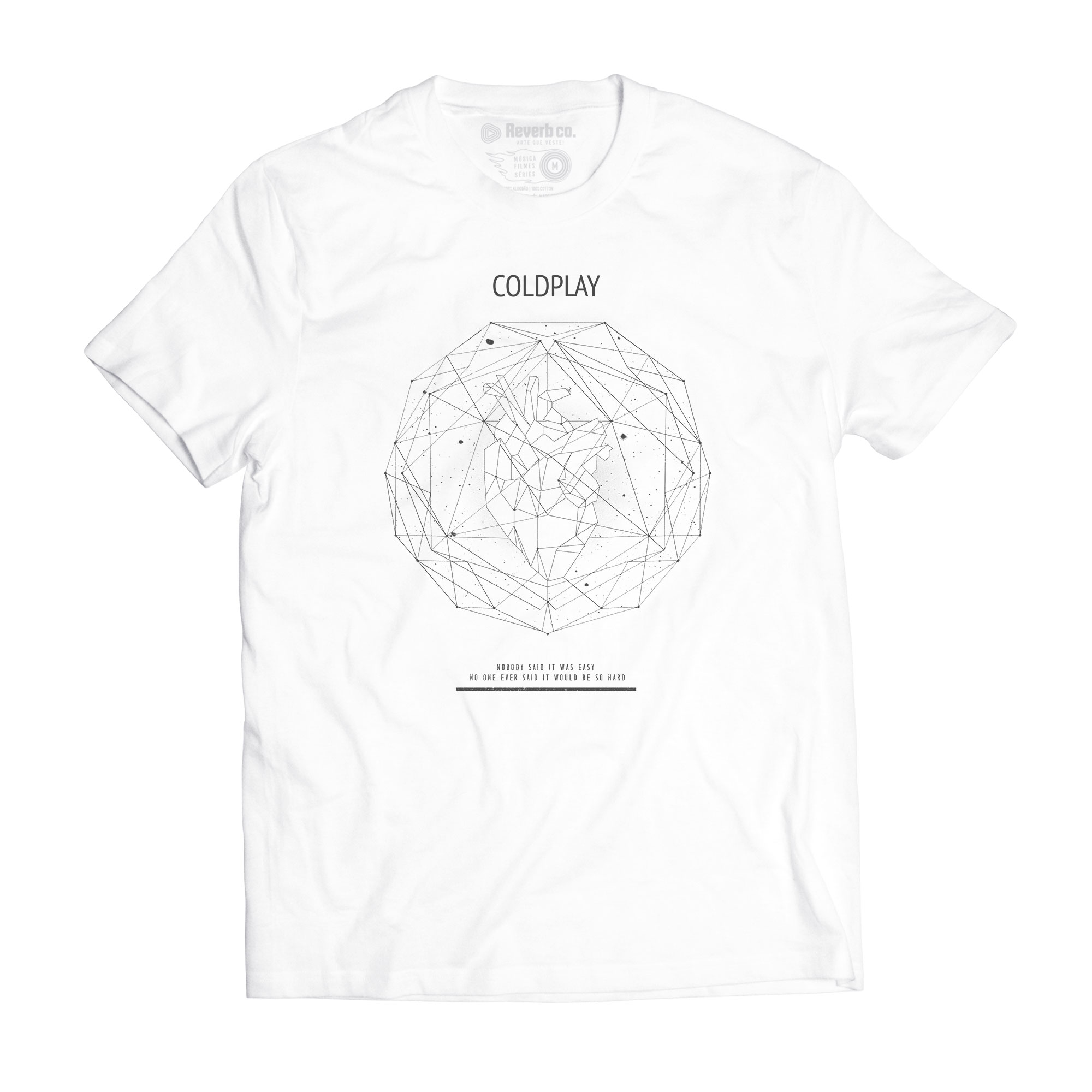 Camiseta The Scientist - Coldplay - Masculino