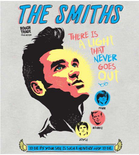 Camiseta - There Is A Light - The Smiths - Masculino