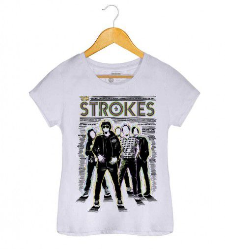 Camiseta - Is This It 2 - The Strokes - Feminino