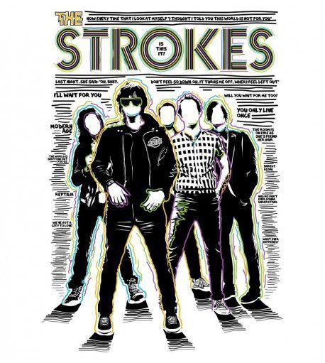 Camiseta Is This It 2 - The Strokes - Feminino