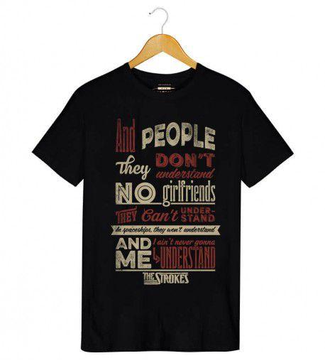 Camiseta - Last Nite - The Strokes - Masculino