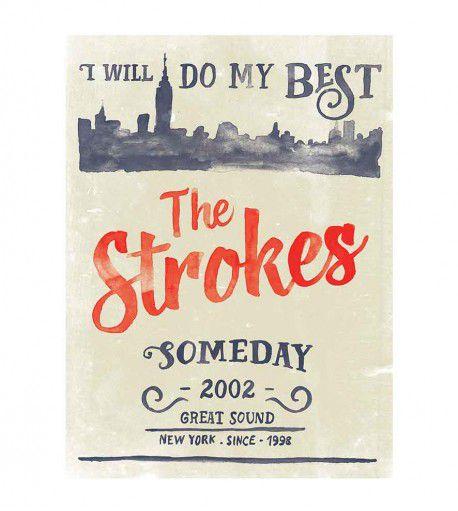 Camiseta - Someday - The Strokes -  Feminino